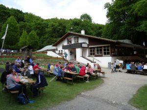 Malepartus Lienen am Hermannsweg Etappe 3