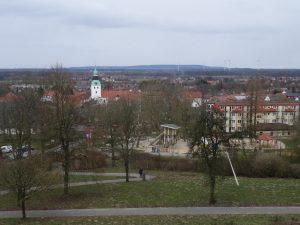 Aussicht von der Himmelsterrasse nach Bad Essen