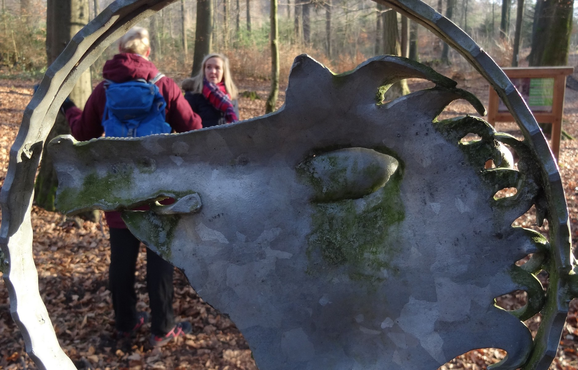 Eingang zum Wildpark Melle