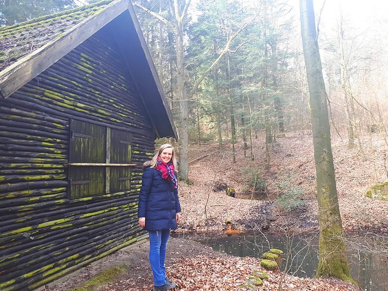 Holzhaus an der Strothbäkequelle