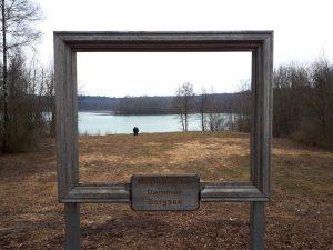 Naturfenster Dammer Bergsee