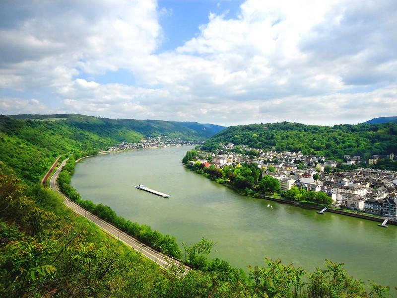 Rheinblick vom Rheinsteig