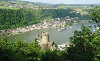 Blick auf Burg Katz