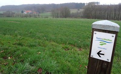 Zack. Und schon liegt Gut Stapenhorst wieder hinter uns.