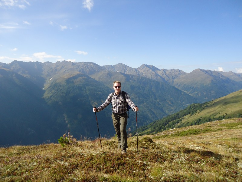Ein tolles Panorma bildet die Kulisse für unsere Wanderung zum Gritzer Hörndl.