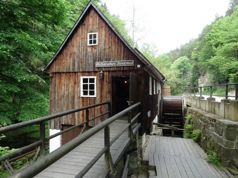 Pause an der Neumannmühle.