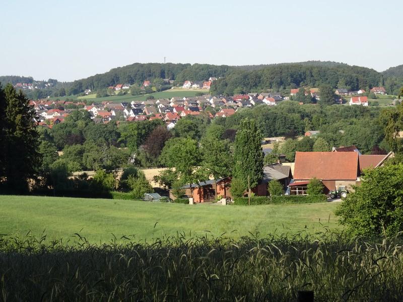 Ausblick auf Hagen vom TERRA.track Borgberg