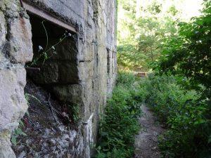 Hier wird die Bergbaugeschichte des Hüggels besonders gut sichtbar.