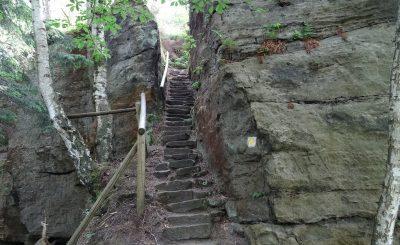Wieviele tausend Stufen haben wir wohl schon genommen in den letzten tagen?
