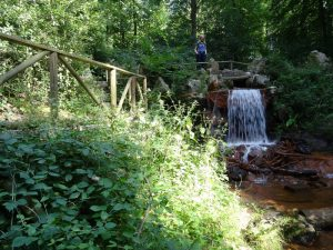 Wasserfall im Kasinopark
