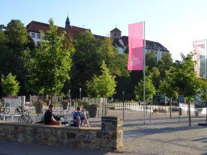Am Ziel: Der Kneipp Erlebnispark in Bad Iburg liegt vor uns.