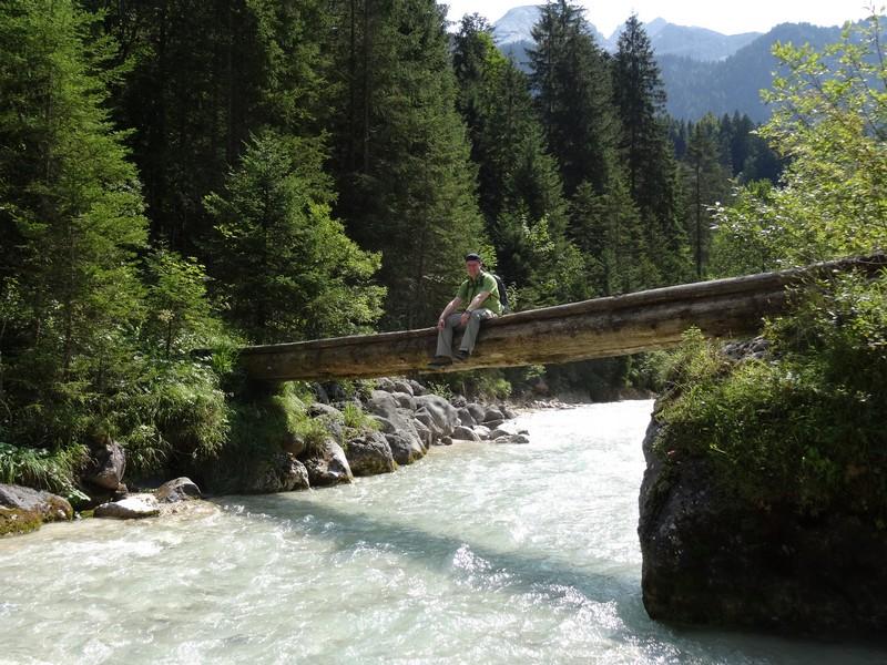 Eine gute Entscheidung - wir haben den Fluss nun fast für uns!