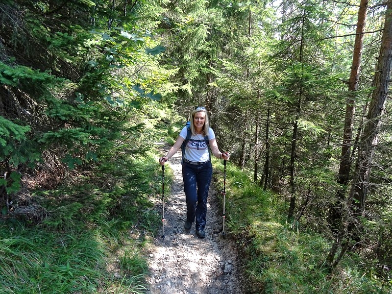 Soooo gefallen uns die Wanderwege gleich viel besser!