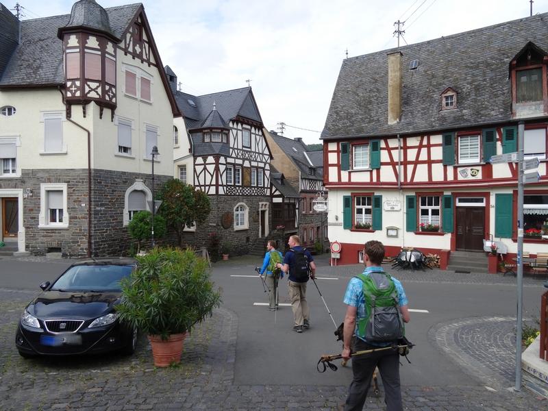 Ortskern Starkenburg mit Fachwerkhäusern