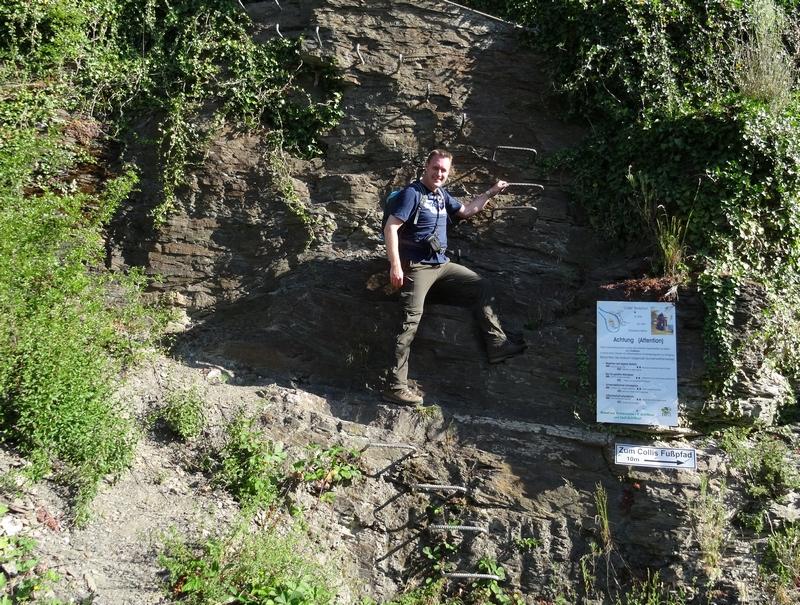 Der Wandervogel am Klettersteig