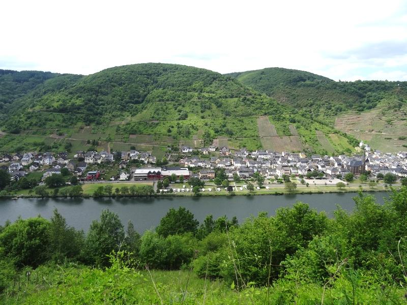 Blick auf St. Aldegund