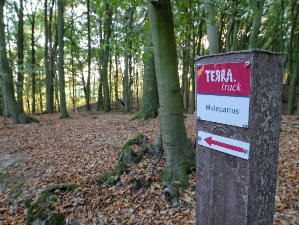 Wegweiser TERRA.track Malepartus