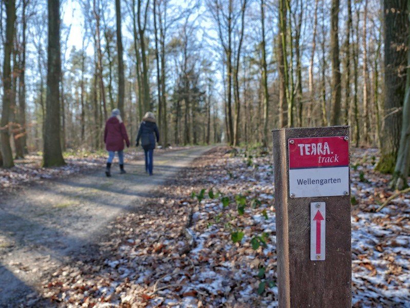 Der TERRA.track Wellengarten in Bad Rothenfelde