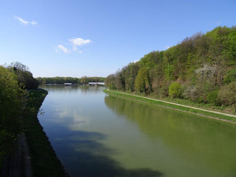 Blick auf den Dortmund.Ems-Kanal am Bevergerner Pättken