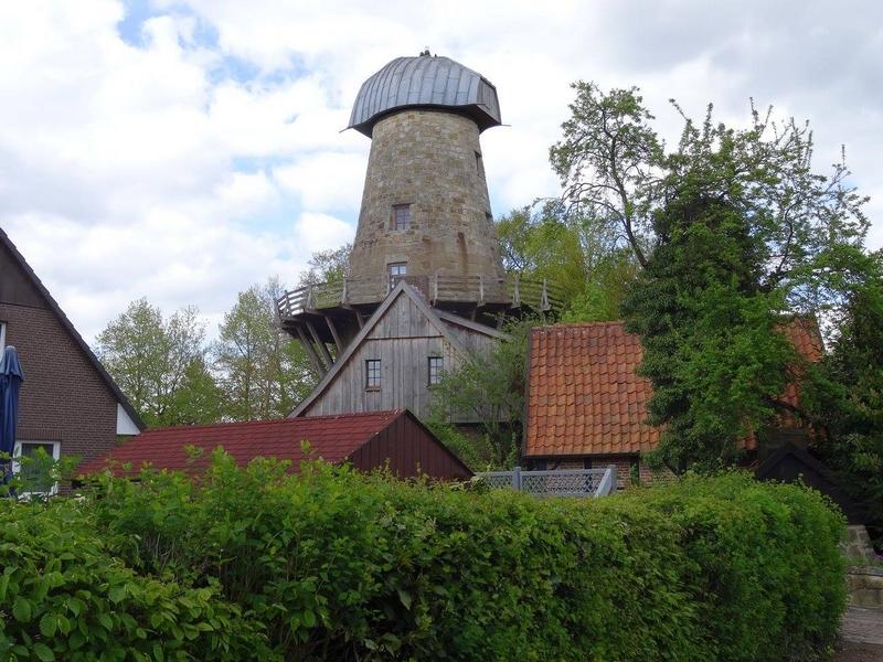 Levedags Mühle auf der Teutoschleife Bevergerner Pättken.