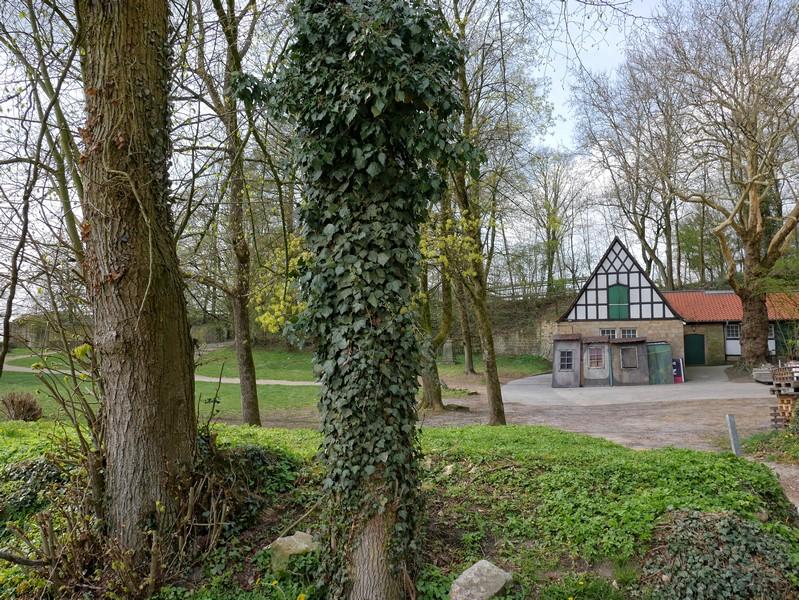 Das Bild zeigt das Requisitenhaus der Freilichtbühne Tecklenburg.