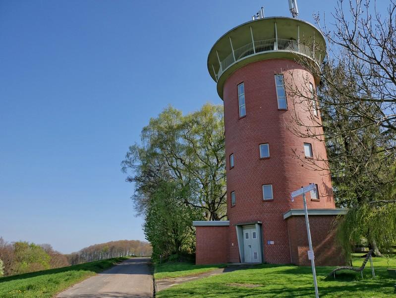 Das Bild zeigt den Wasserturm Hilter
