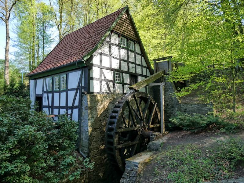 Das Bild zeigt die Bad Essener Wassermühle.