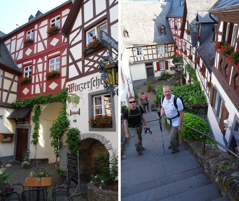 Das Bild zeigt eine Collage von zwei Bildern aus Beilstein.