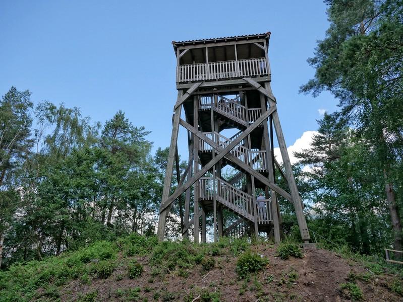 Das Bild zeigt den Förderturm Buchholz.