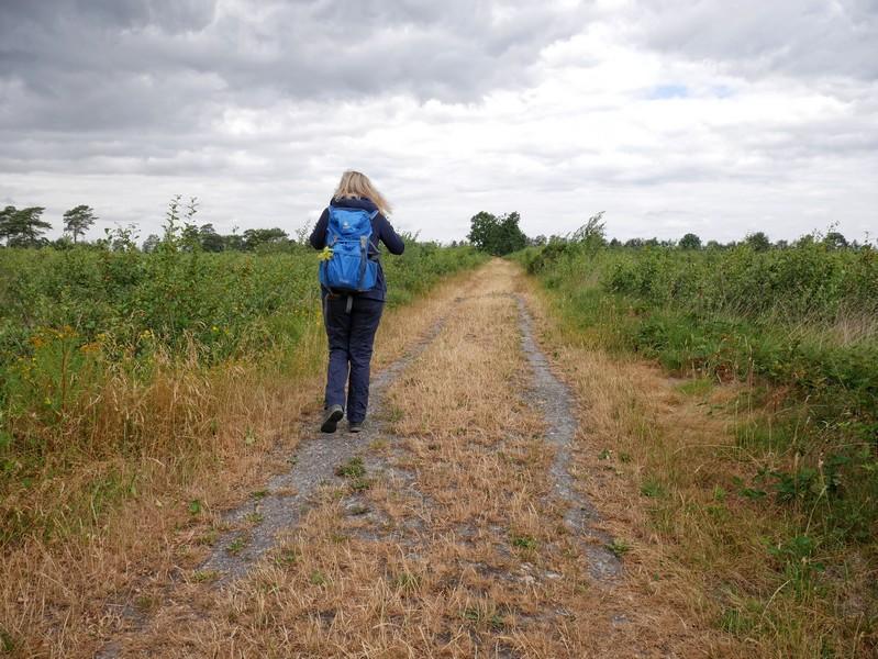 Das Bild zeigt Meike auf dem TERRA.track Venner Moor.