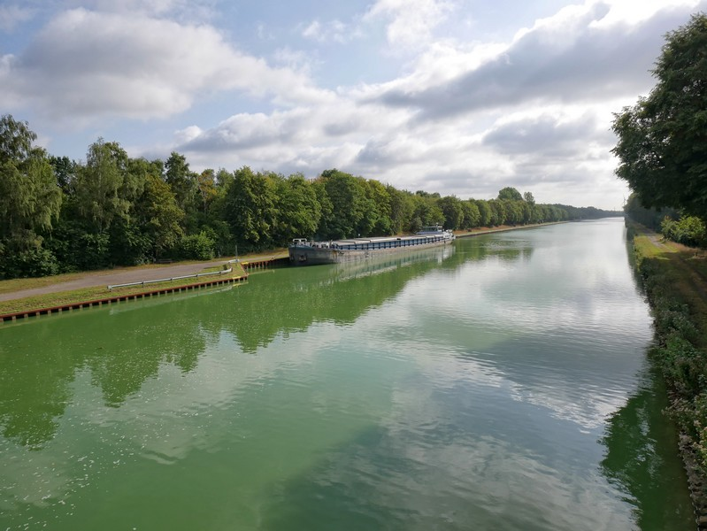 Blick auf den Mittellandkanal