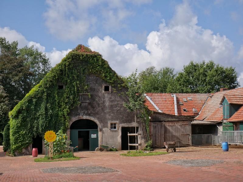 Auch der Biohof selbst ist ein ganz besonderer Anblick!