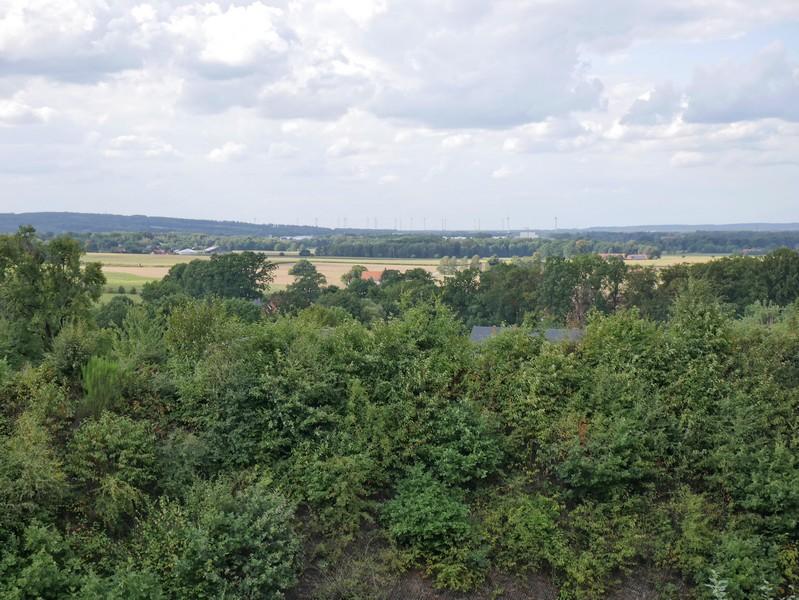 Weitblicke sind auf diesem DiVa Walk Abschnitt eher selten. Oberhalb von Schwagstorf bekommen wir aber einen solchen geboten.