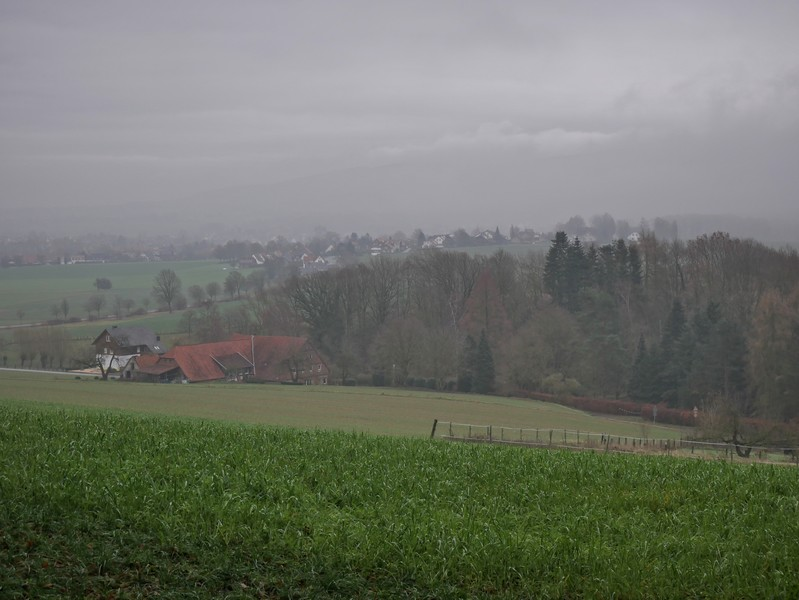 Wir kehren allmählich zurück nach Bad Holzhausen.