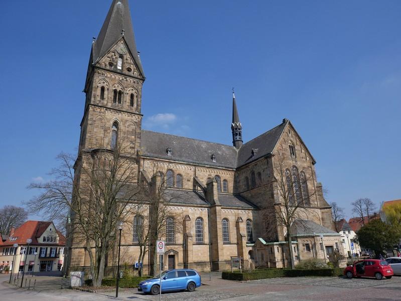 St. Agatha in Mettingen ist abermals Ausgangspunkt unserer Wanderung.