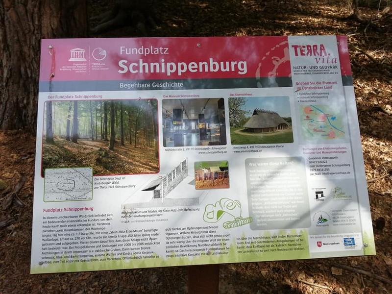 Die Schnippenburg ist der Namensgeber unseres TERRA.tracks.