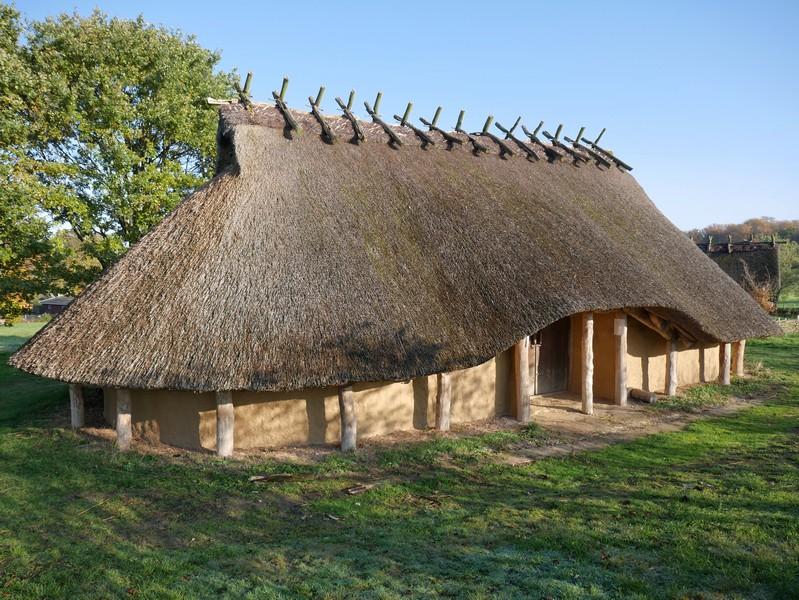 Das Eisenzeithaus in Venne bietet uns Einblicke in den Alltag unserer Vorfahren.