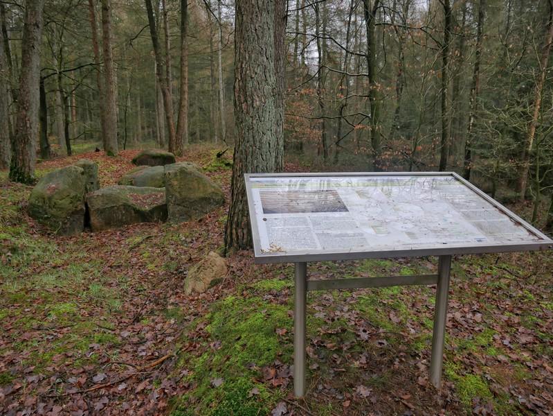 Das Großsteingrab Meyer ist leider arg in Mitleidenschaft gezogen worden.