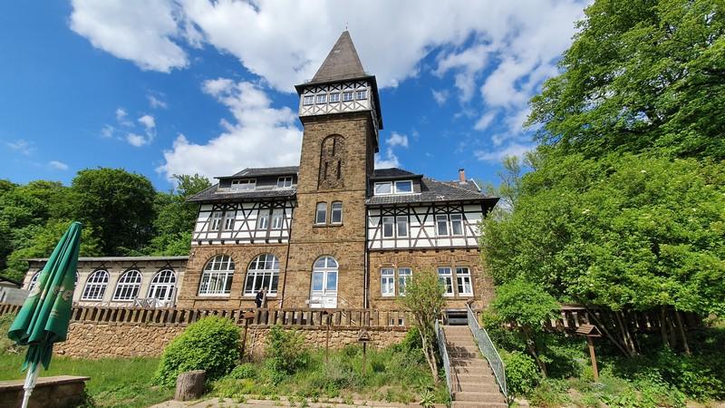 Kurz vor dem 125jährigen Jubiläum: das Ausflugslokal Wittekindsburg.
