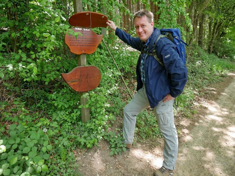 Der Waldlehrpfad ist interaktiv angelegt und bietet Informatives zu unserer Umgebung.