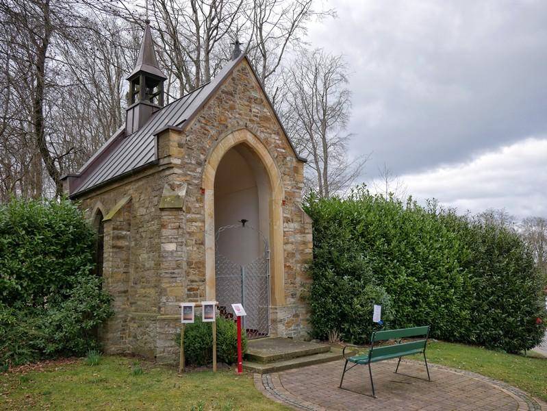 Die Marienkapelle aus dem Jahr 1856 ist auch heute noch Ziel von Andachten.