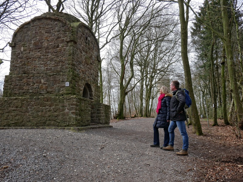 Das Bismarckdenkmal befindet sich in direkter Nachbarschaft zum Nonnenstein-Aussichtsturm.