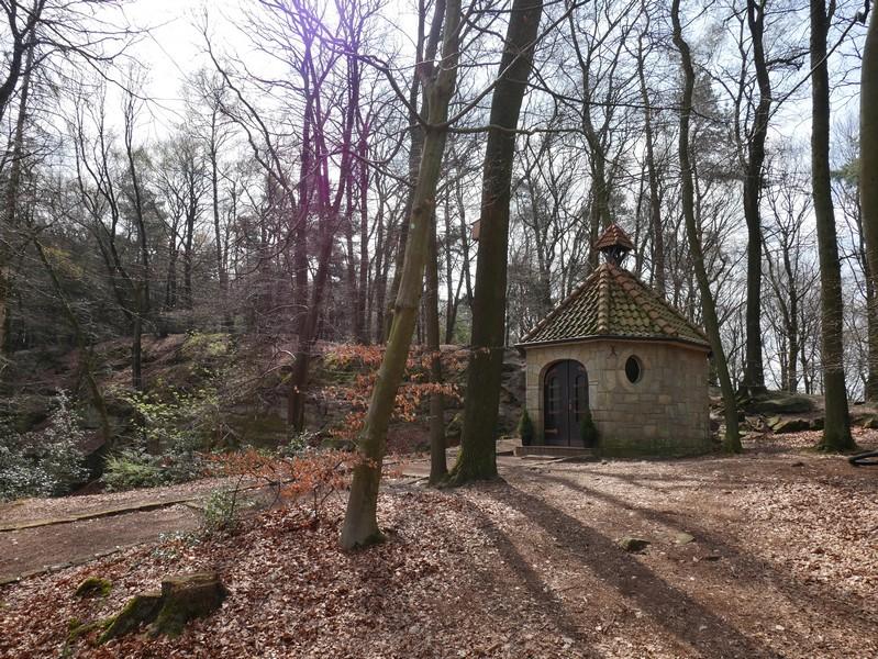 Die Waldkapelle in Brochterbeck ist bei jedem Besuch ein besonderes Erlebnis.
