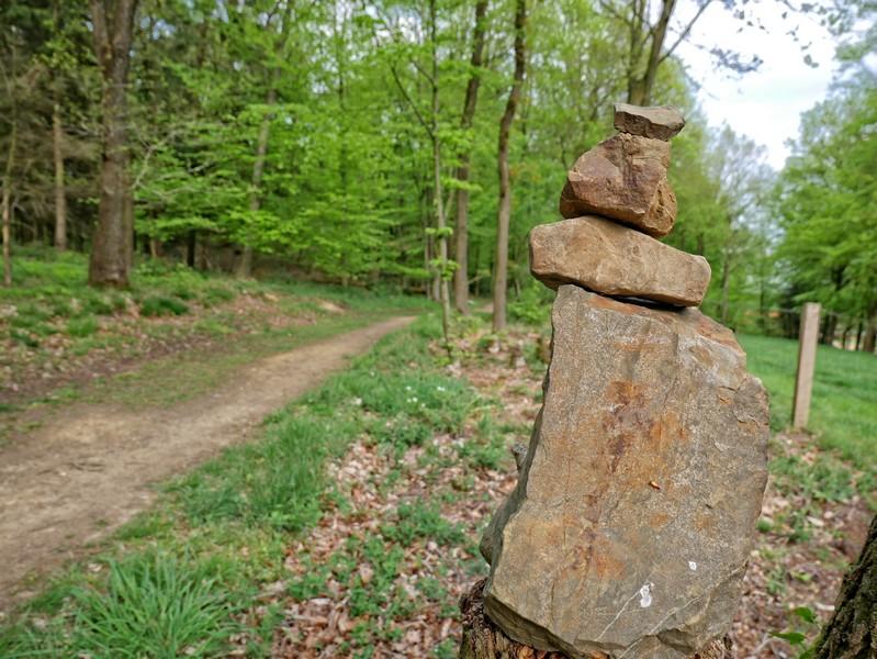 Steinmanderl kommen auch in unseren Breitengraden immer mehr in Mode, scheint es.